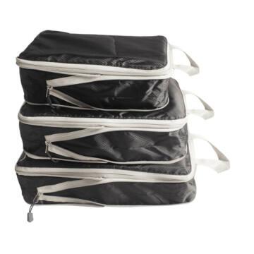 Szűkíthető Bőrönd Rendszerező 3db-os