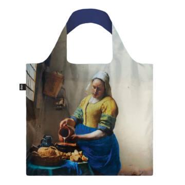 Johannes Vermeer The Milkmaid with Irma Boom Loqi Táska