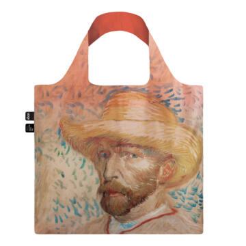 Vincent Van Gogh Self Portrait with Straw Hat Loqi Táska