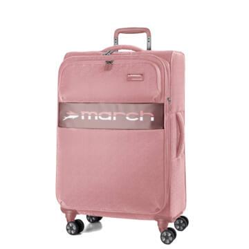 Mosaic Újrahasznosított Vászon Közepes Bőrönd Pink