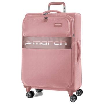 Mosaic Nagy bőrönd pink