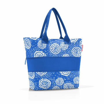 Shopper e1 Batik Strong Blue Reisenthel