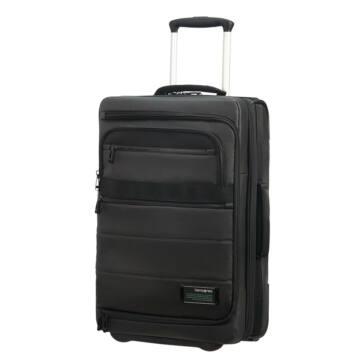 Samsonite Cityvibe 2.0 Gurulós Kabin Bőrönd 55cm Fekete