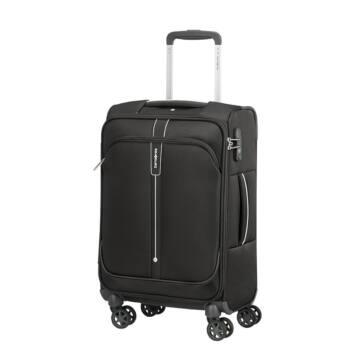 Samsonite Popsoda Vászon 35L Kabin Bőrönd Fekete