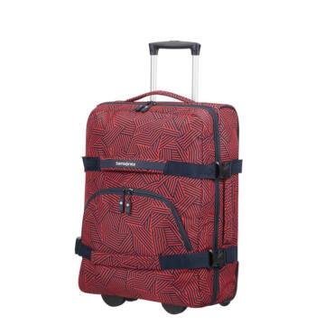 Samsonite Rewind Duffle Vászon Kabin Bőrönd Piros