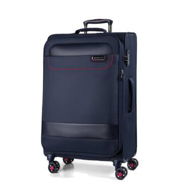 Tourer Vászon Bőrönd Közepes Kék