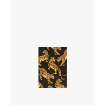 Wouf A6 Notebook Papír Füzet Black Leopard