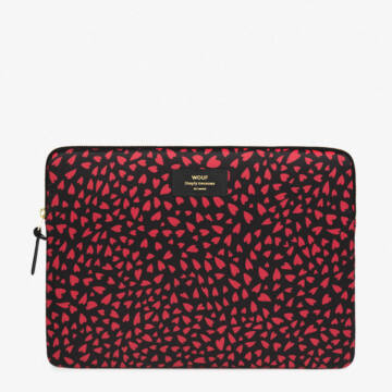"""Wouf Laptop Sleeve 13"""" Hearts"""