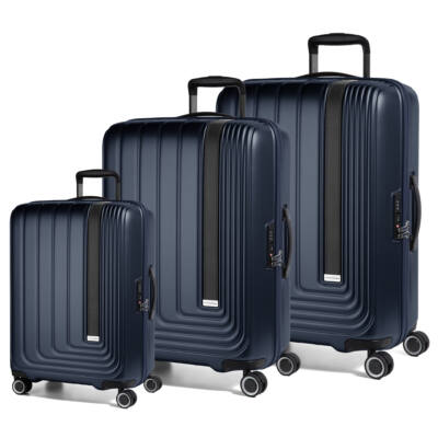 ab2715d76cc0 Beau Monde Szett Bőrönd Kék