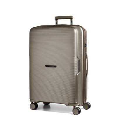 Bel Air Közepes bőrönd bronze