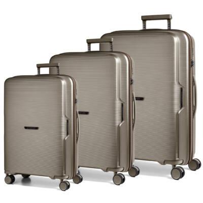 Bel Air Szett bőrönd bronze