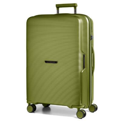 Bel Air Nagy bőrönd zöld