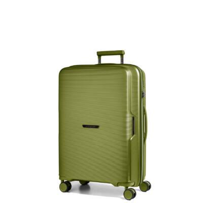 Bel Air Kabin bőrönd zöld