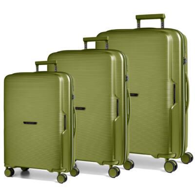 Bel Air Szett bőrönd zöld