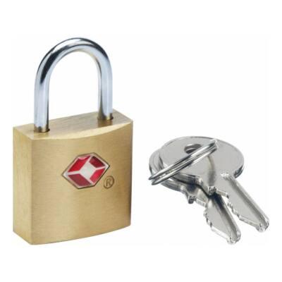 TSA Kulcsos Kicsi Réz Lakat