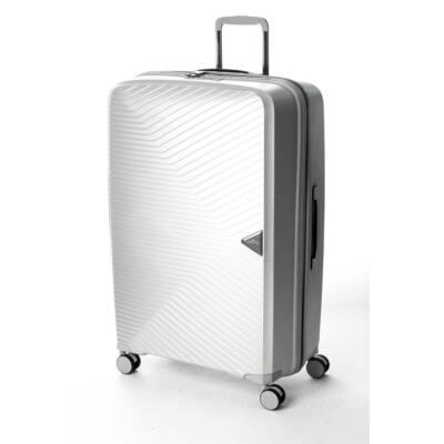 3c7062bb695f Gotthard Törhetetlen Nagy Bőrönd Silver - 4 kerekű