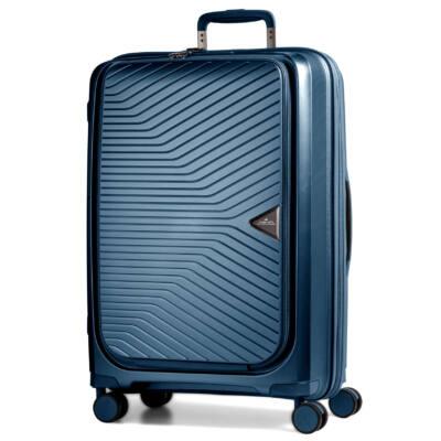 Gotthard bővíthető bőrönd Orion Blue