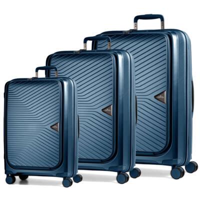 Gotthard Előzsebes bőrönd Orion Blue