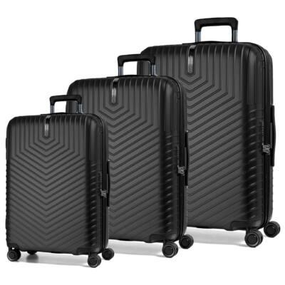 Lotus Szett bőrönd fekete