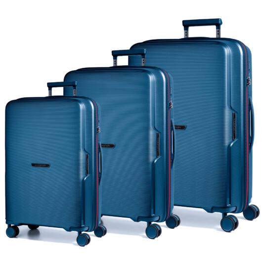 Bel Air Szett bőrönd kék