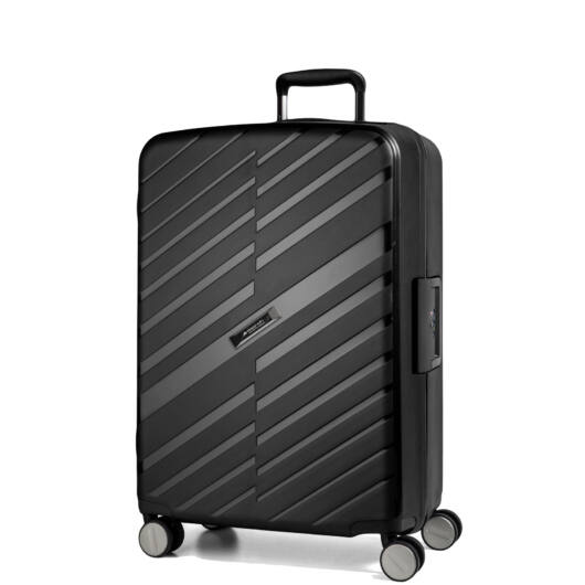 Bon Voyage Közepes bőrönd fekete