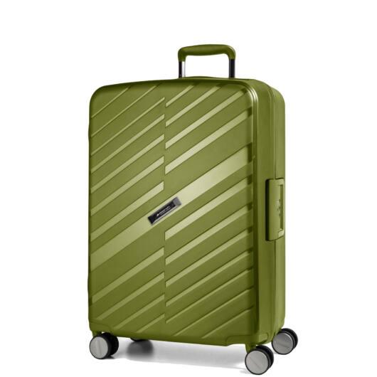 Bon Voyage Közepes bőrönd zöld