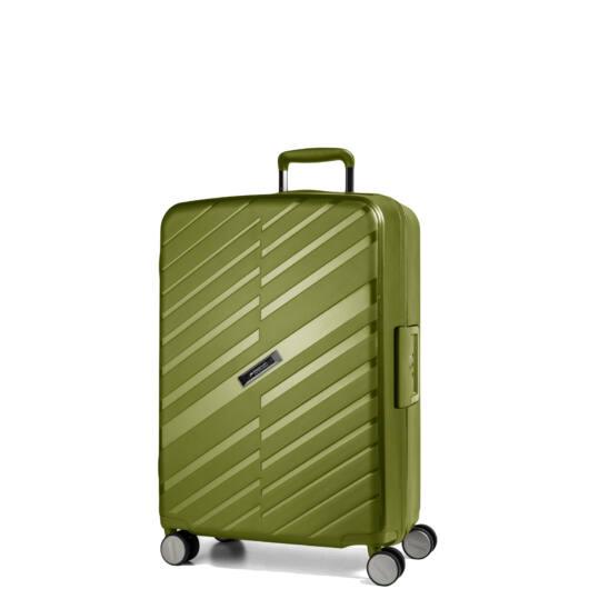Bon Voyage Kabin bőrönd zöld