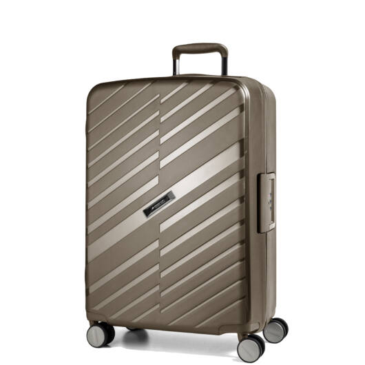 Bon Voyage Közepes bőrönd bronz