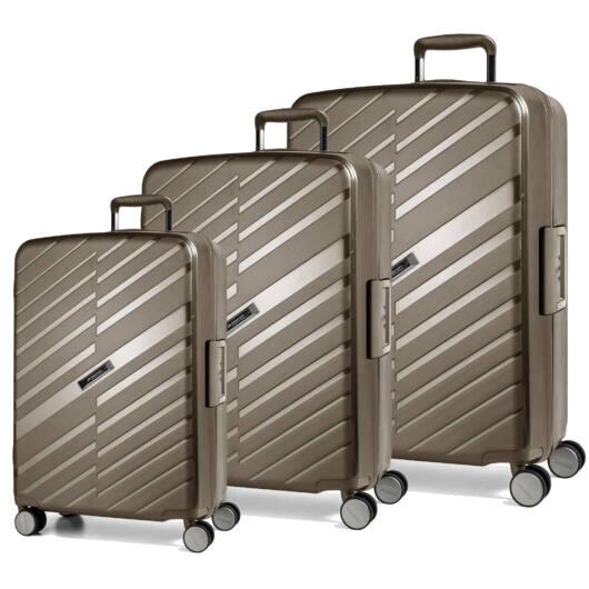 Bon Voyage Szett bőrönd Bronze