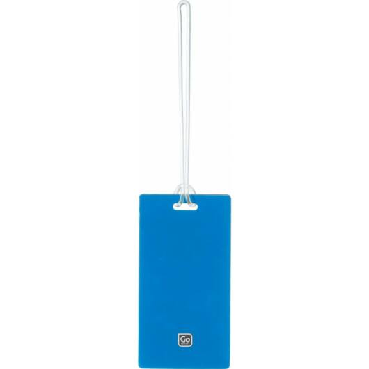 Műanyag Bőrönd Címke 2 db - Kék
