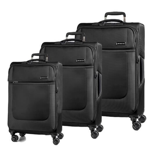 Imperial Szett bőrönd fekete