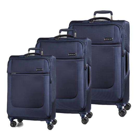 Imperial Szett bőrönd kék