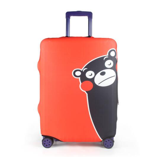 Elasztikus Bőrönd Huzat Piros Mackó