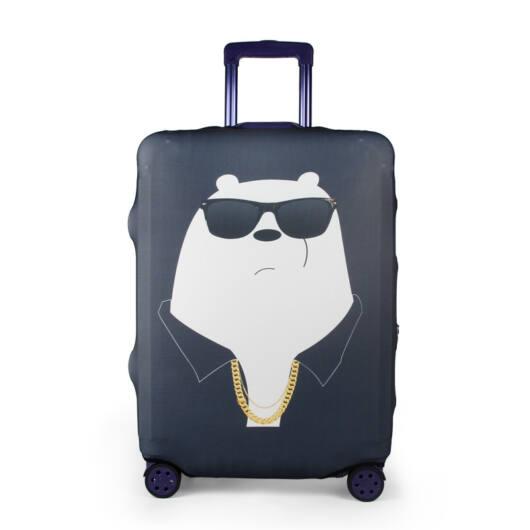Elasztikus Bőrönd Huzat Mackós