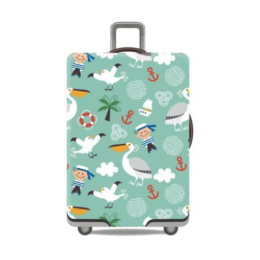 Elasztikus Bőrönd Huzat Pelikános