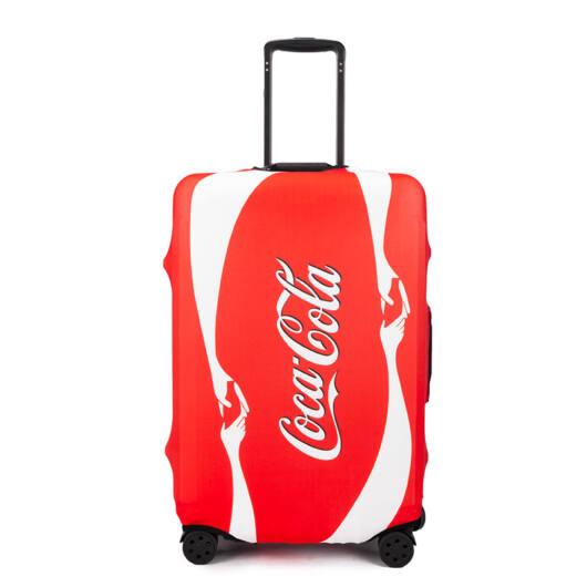 Elasztikus Bőrönd Huzat CocaCola