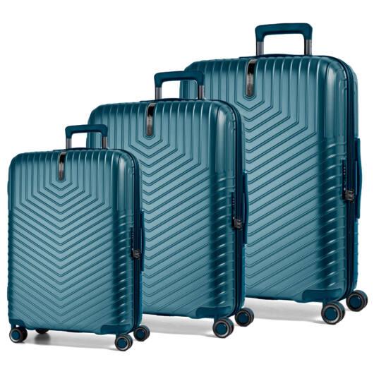 Lotus Szett bőrönd kék