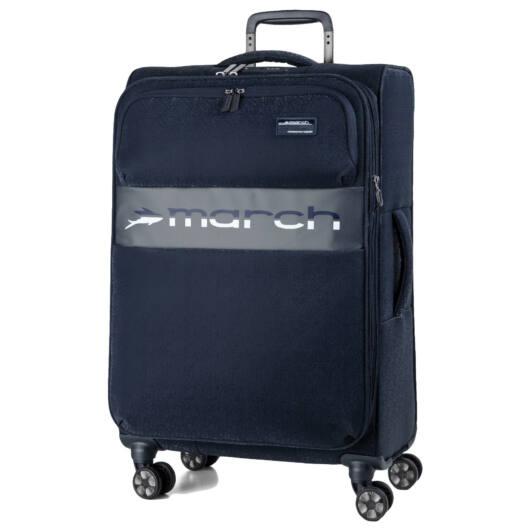Mosaic Nagy bőrönd dark blue