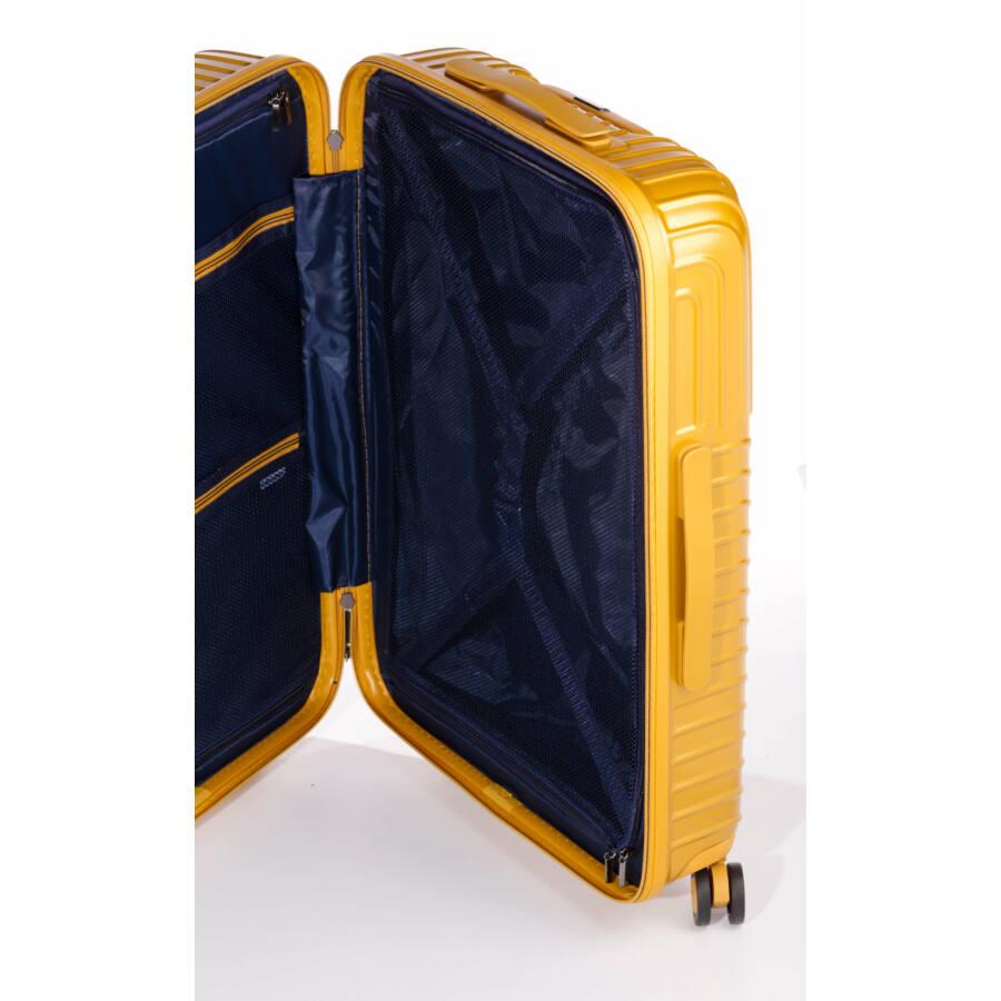 Prémium bőrönd Belső