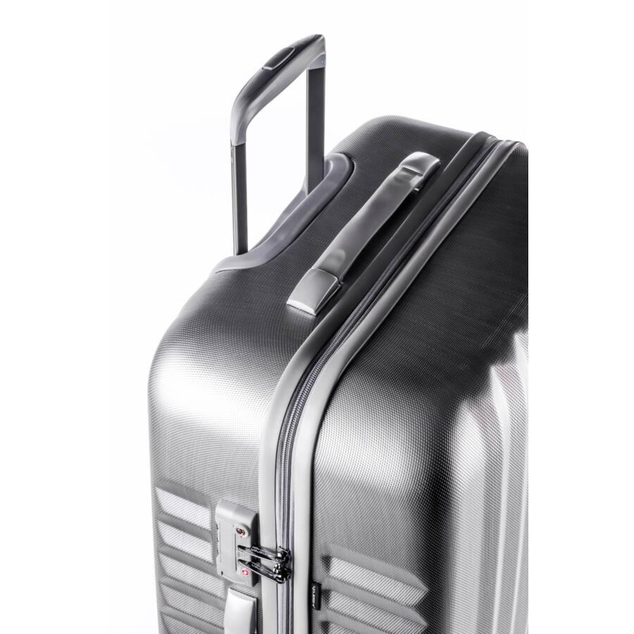 Ribbon Silver Brushed bőrönd
