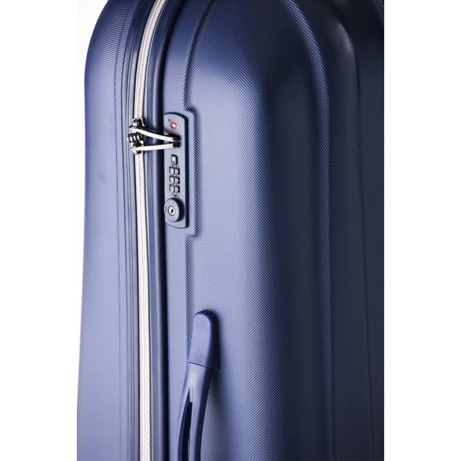 Rocky Nagy bőrönd dark lake silver
