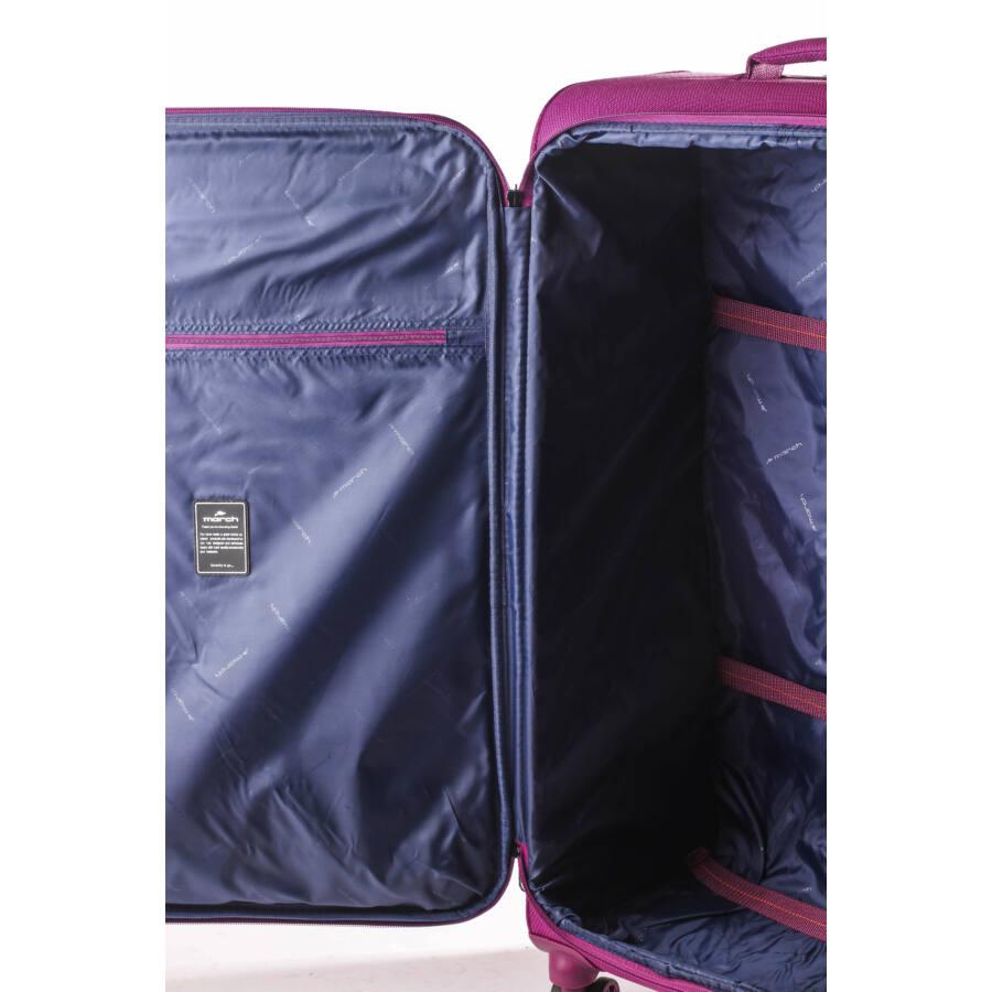 Tourer vászon bőrönd belső