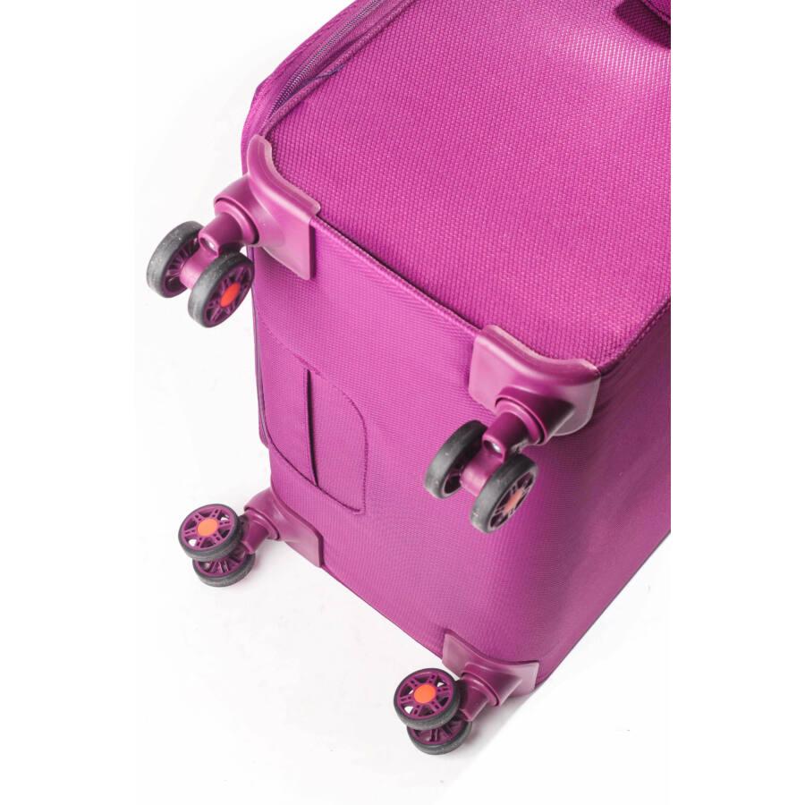 Tourer vászon bőrönd kerék